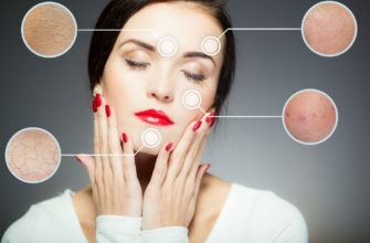 Как определить типы кожи лица