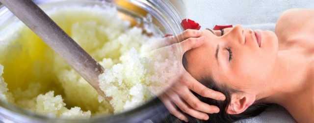 Как приготовить скраб для кожи головы в домашних условиях