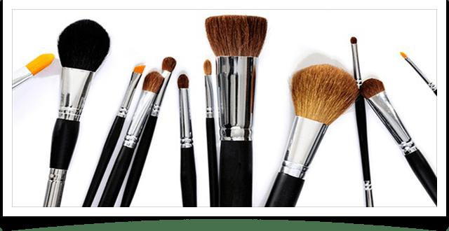 Натуральные и искусственные кисти для макияжа