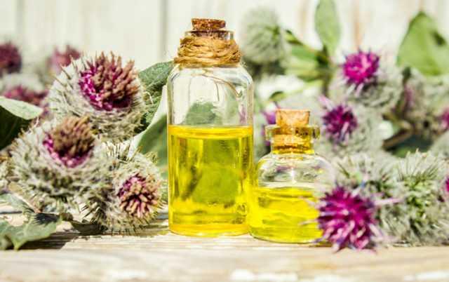 репейное масла против выпадения волос