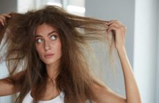 Как ухаживать за сухими волосами?