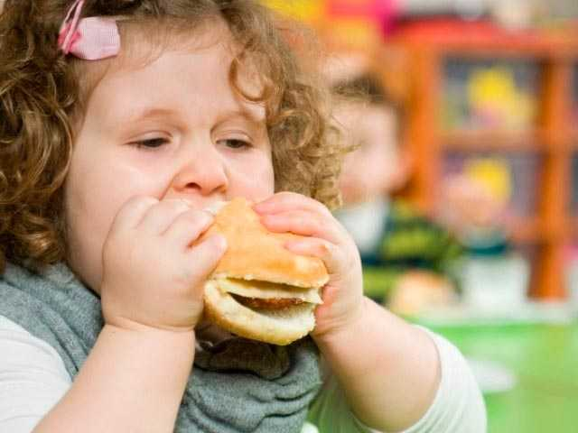 Диета для детей с ожирением
