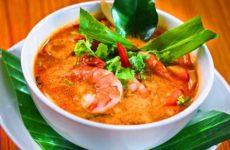 Как приготовить острый, тайский суп Том Ям
