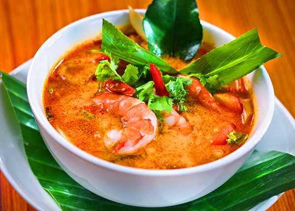 Тайский суп Том Ям рецепт приготовления.