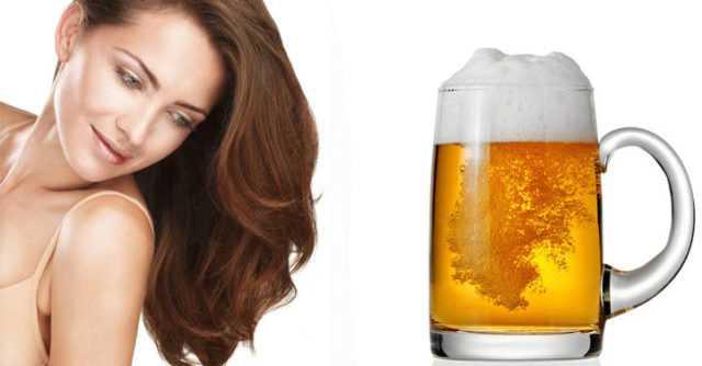 Пиво против секущихся кончиков
