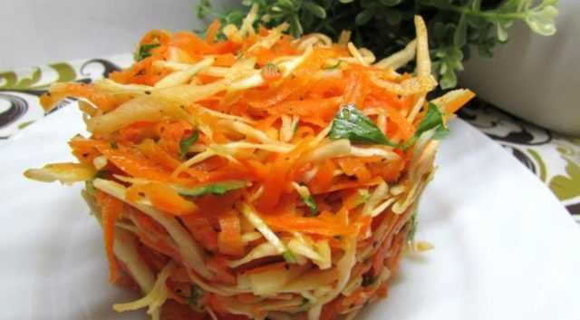 Тыква и морковь рецепт салата