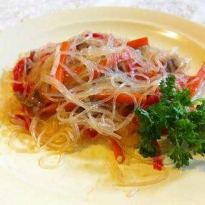 Фунчоза рецепт приготовления салата в домашних условиях