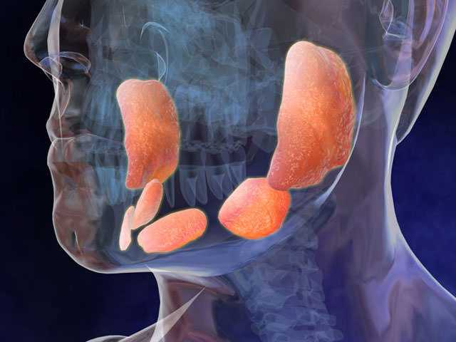 Воспаление околоушной слюной железы