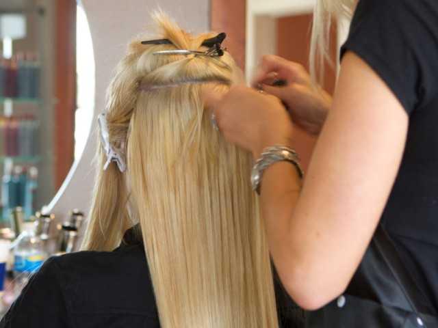 Что такое горячее наращивание волос