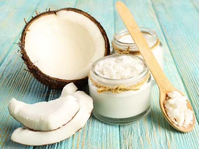 Рецепт маски с кокосовым маслом для волос