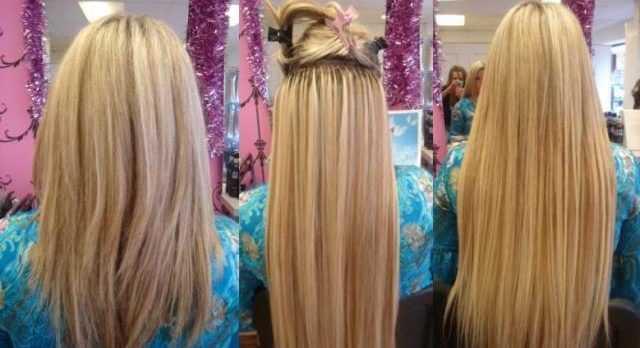Плюсы горячего наращивания волос