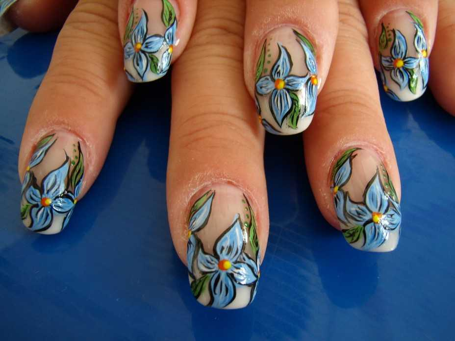 Наращивание ногтей рисунки, декорирование, роспись
