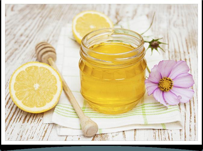 Рецепт лимонной маски с маслом и медом
