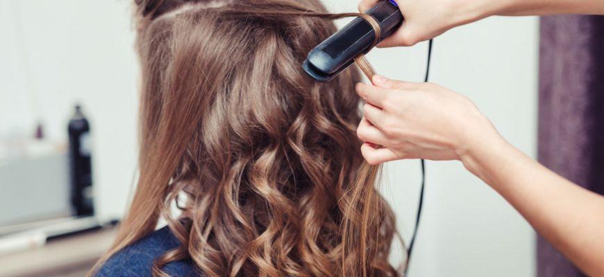 как накрутить волосы с помощью утюжка для волос ajnj