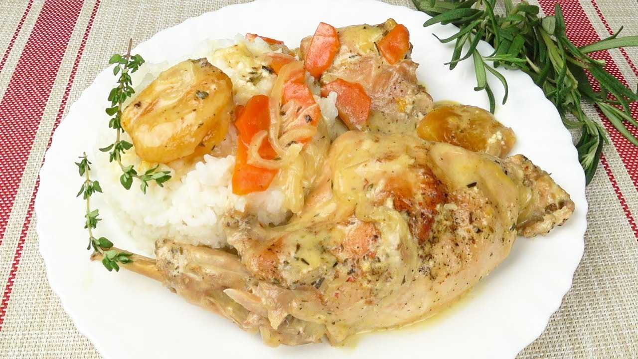 Рецепт приготовления блюда из зайца в сметане