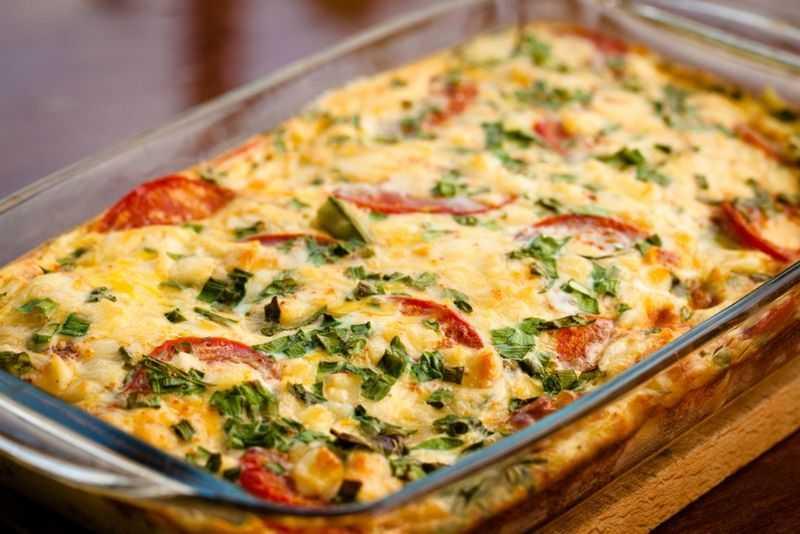 Блюда из фенхеля – овощная запеканка