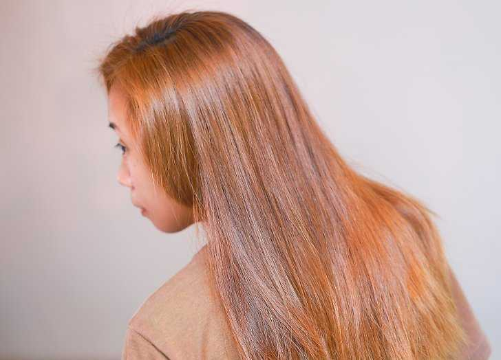 Окрашивание волос корицей