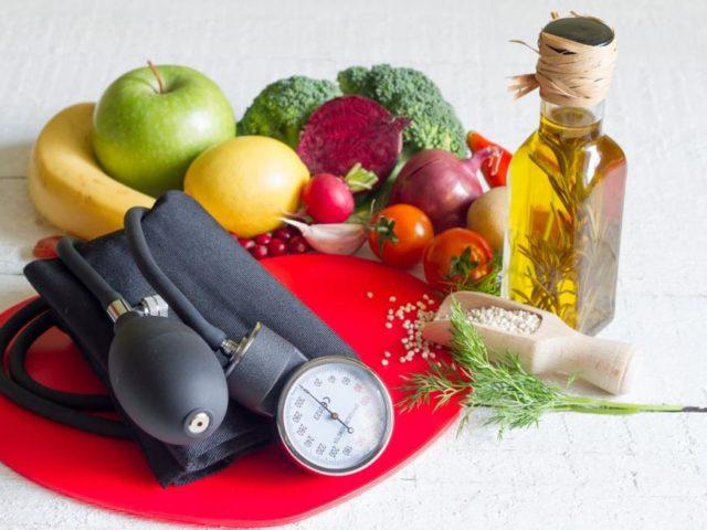 Питание при гипертонии, повышенном давлении