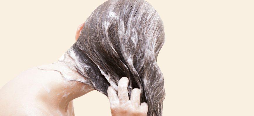 помыть голову без шампуня