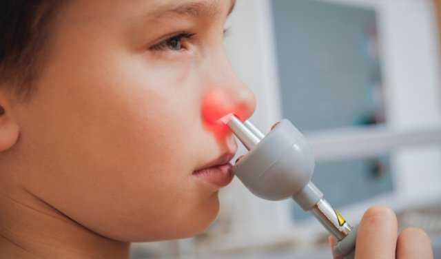 прогревание носа при насморке