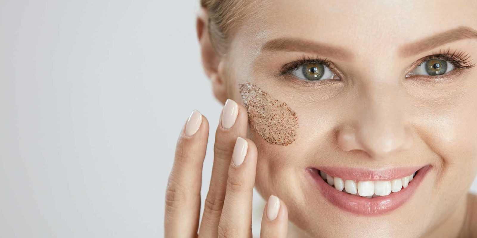 Снятие макияжа пилинг лица
