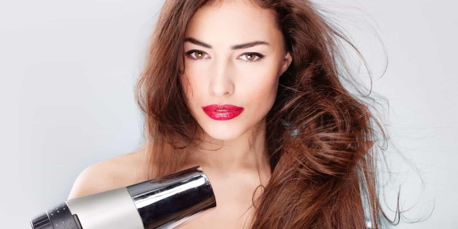 Укладка волос после химической завивки