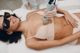 Удаление волос на груди у девушек и женщин