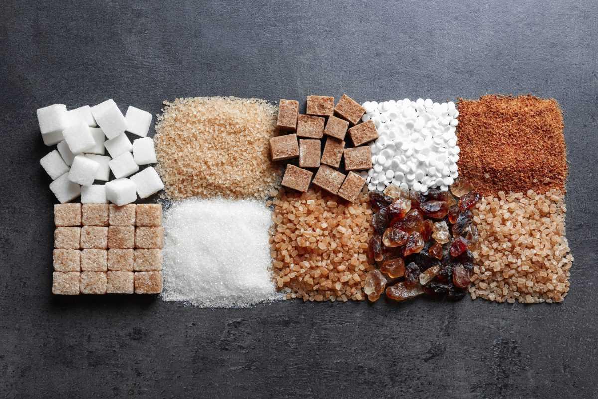 Виды сахарозаменителей