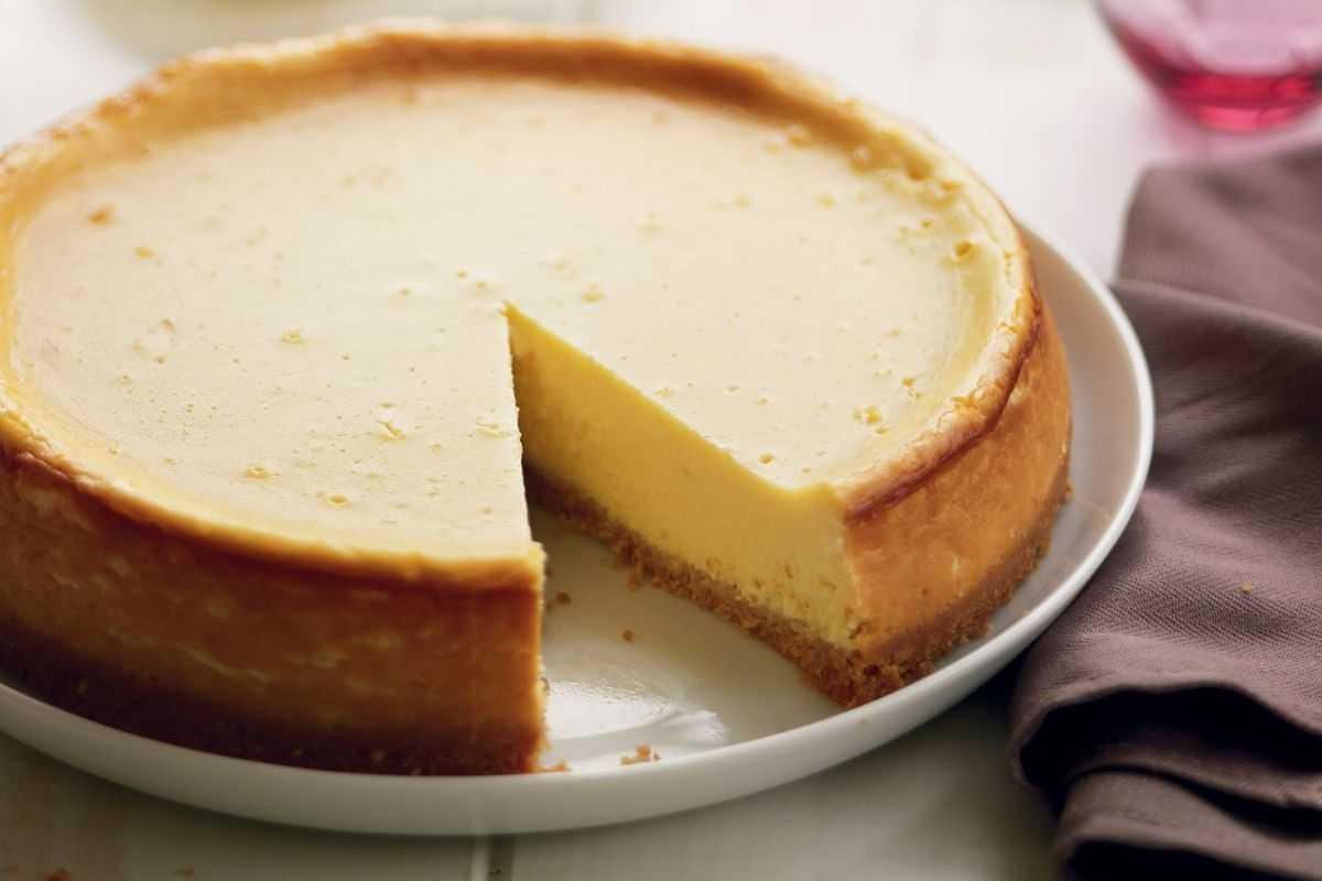 Классический творожный пирог