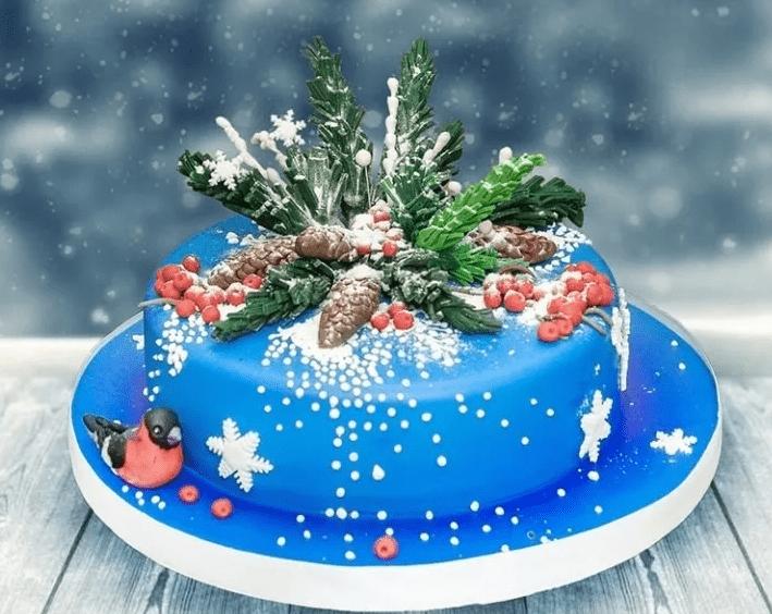 Новогодний торт «Новогодняя ночь»