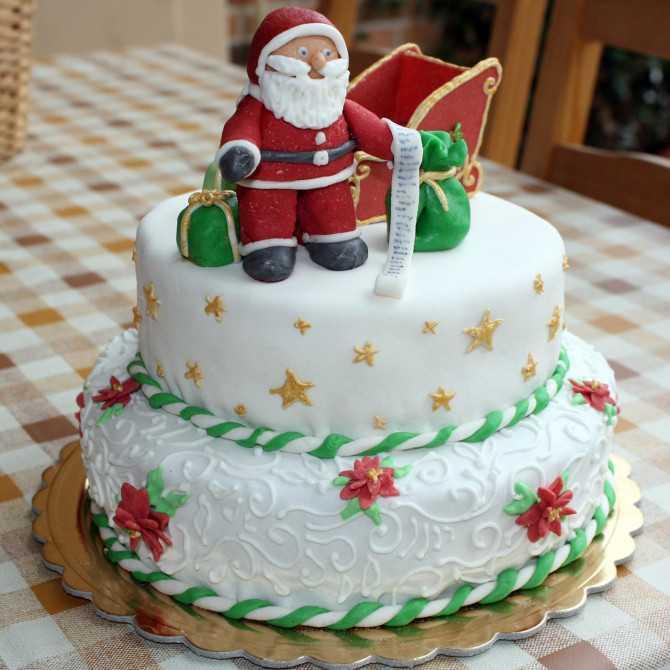 Новогодний торт «Веселый карнавал»