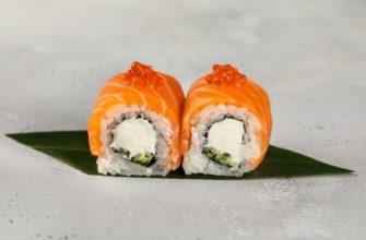 рецепт суши Филадельфия
