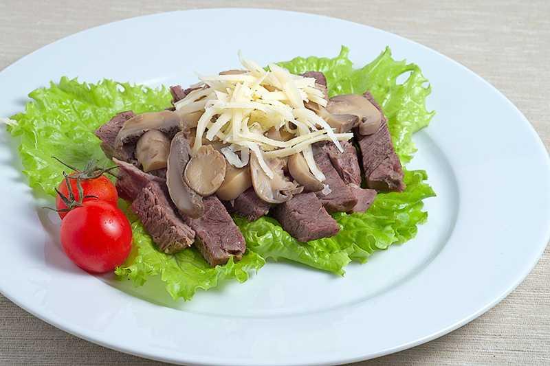 «Мясной» салат
