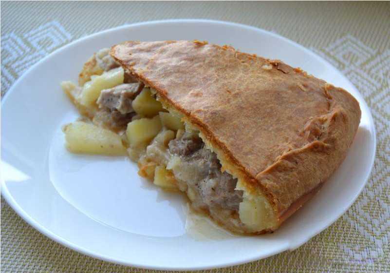 Курник, рецепт с картофелем
