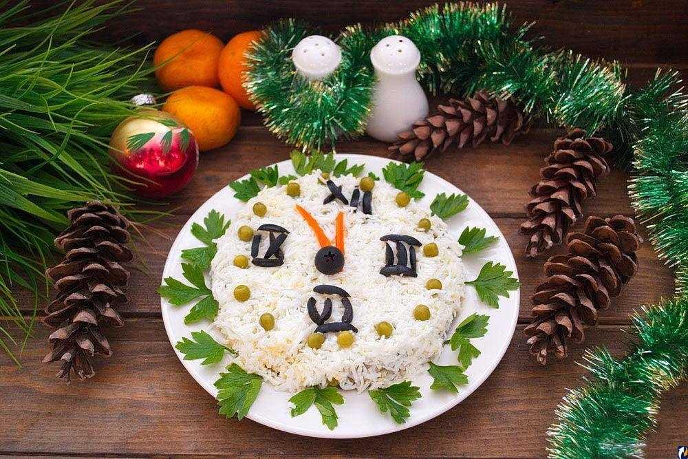 Новогодний салат «Оригинальный»