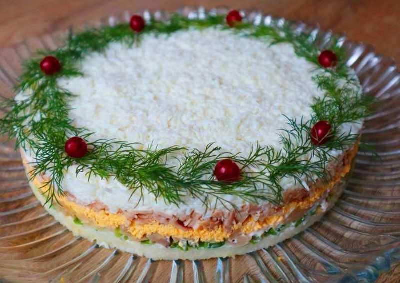 Новогодний салат «Особенный»