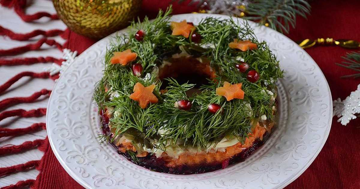 Новогодний салат «Зимняя сказка»