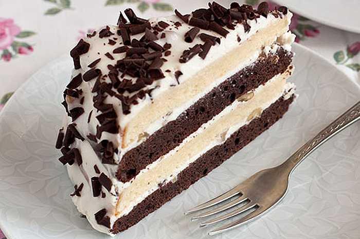 Рецепт сметанного торта «По-деревенски»