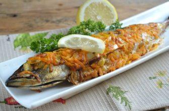 Запеченная рыба по-вьетнамски