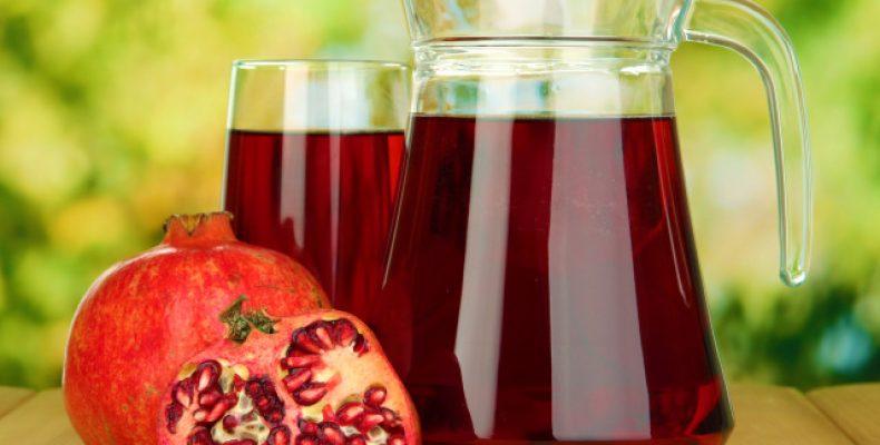 Гранатовый сок повышает или понижает давление?