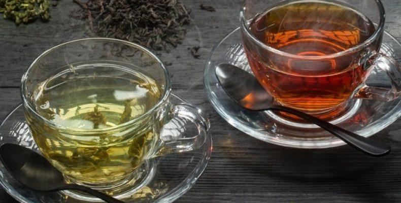 Какой чай, зеленый или черный, повышает давление?