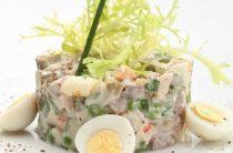 3 Рецепта Оливье советский, классический, столичный и калорийность