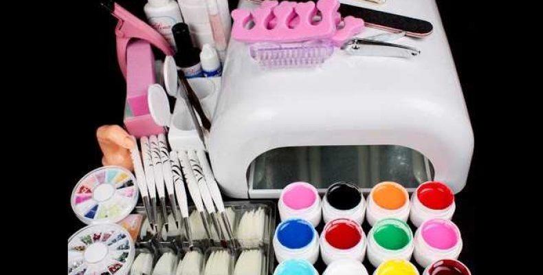 Инструменты и материалы для гелевого и акрилового наращивания ногтей
