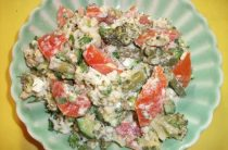 Салат со стручковой фасолью