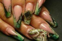 Делаем литье (жидкие камни) на ногтях своими руками